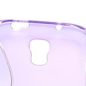S-line gélový obal na Samsung Galaxy S4 - fialový - 5