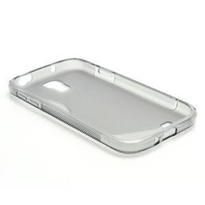 S-line gélový obal na Samsung Galaxy S4 - šedý - 5
