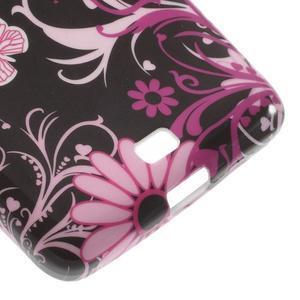 Soft gélový obal pre Microsoft Lumia 535 - kúzelní motýľe - 5
