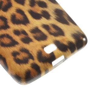 Soft gélový obal na Microsoft Lumia 535 - leopard - 5