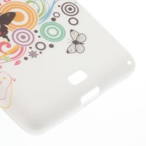 Soft gélový obal pre Microsoft Lumia 535 - motýľikové - 5