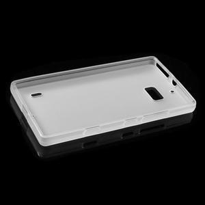 Matný gélový kryt pre Nokia Lumia 930 - biely - 5