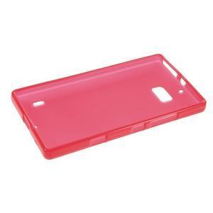Matný gélový kryt pre Nokia Lumia 930 - červený - 5