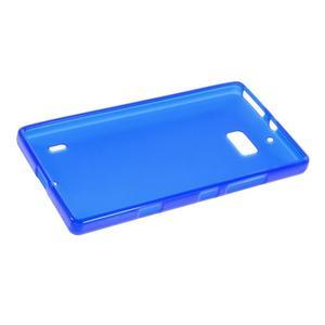 Matný gélový kryt pre Nokia Lumia 930 - modrý - 5