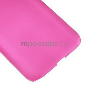 Pogumový plastový obal pre Samsung Galaxy Core Prime - rose - 5
