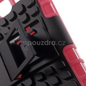Extrémne odolný obal so stojanom pre Samsung Galaxy Core Prime - rose - 5