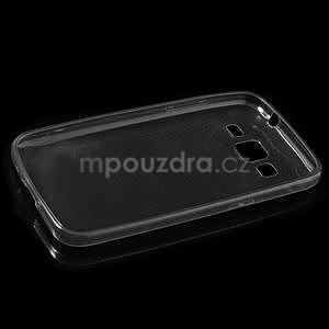 Ultra tenký slim obal pre Samsung Galaxy Core Prime - šedý - 5