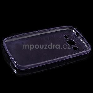 Ultra tenký slim obal pre Samsung Galaxy Core Prime - fialový - 5