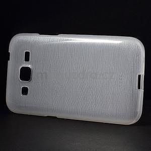 Brúsený gélový kryt pre Samsung Galaxy Core Prime - transparentný - 5