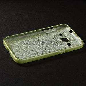 Broušený gelový kryt na Samsung Galaxy Core Prime - zelený - 5