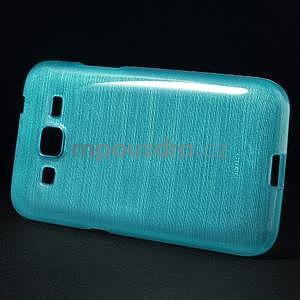 Brúsený gélový kryt pre Samsung Galaxy Core Prime - tyrkysový - 5
