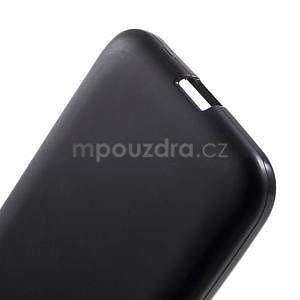 Černý matný gelový kryt Samsung Galaxy Core Prime - 5