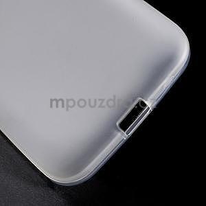 Biely matný gélový kryt Samsung Galaxy Core Prime - 5