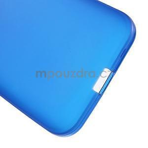 Modrý matný gelový kryt Samsung Galaxy Core Prime - 5