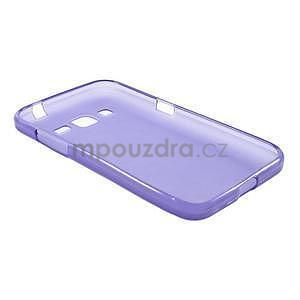 Fialový matný gelový kryt Samsung Galaxy Core Prime - 5