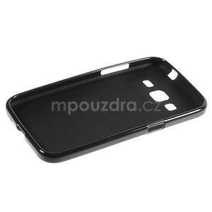 Lesklý gelový obal na Samsung Galaxy Core Prime - černý - 5
