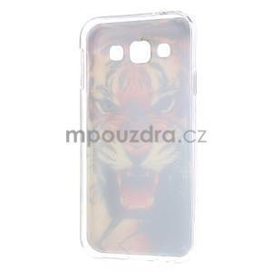 Gélový obal pre mobil Samsung Galaxy E5 - tiger - 5