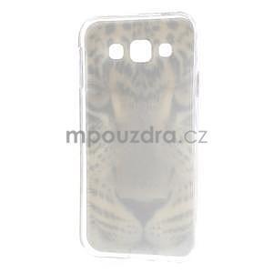Gélový obal na mobil Samsung Galaxy E5 - leopard - 5