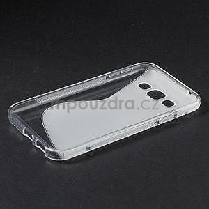 Transparentní gélový obal Samsung Galaxy E5 - 5