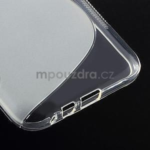 S-line gélový obal na Samsung Galaxy E7 - transparentný - 5