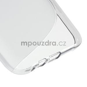 S-line gélový obal na Samsung Galaxy E7 - šedý - 5