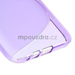 S-line gélový obal na Samsung Galaxy E7 - fialový - 5