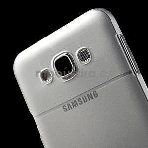Plastový kryt na mobil Samsung Galaxy E7 - transparentný - 5