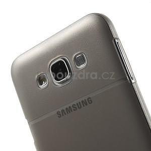 Plastový kryt pre mobil Samsung Galaxy E7 - šedý - 5