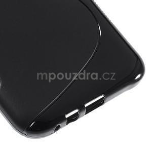 S-line gélový obal na Samsung Galaxy E7 - čierny - 5