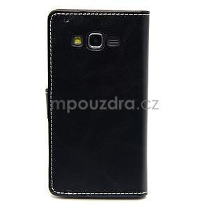 Čierné puzdro pre Samsung Galaxy Grand Prime - 5