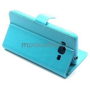 Tyrkysové puzdro na Samsung Galaxy Grand Prime - 5