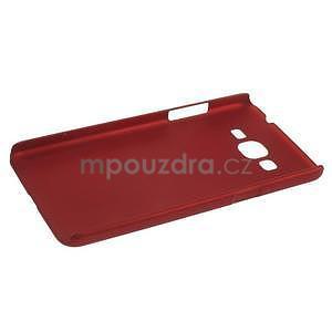 Pogumovaný kryt pre Samsung Galaxy Grand Prime - červený - 5