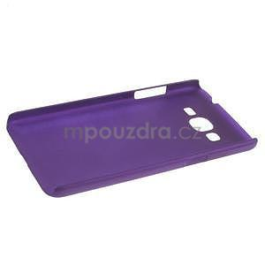 Pogumovaný kryt pre Samsung Galaxy Grand Prime - fialový - 5
