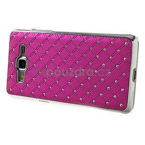 Rose drahokamový kryt na Samsung Grand Prime - 5