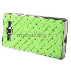 Zelený drahokamový kryt pre Samsung Grand Prime - 5
