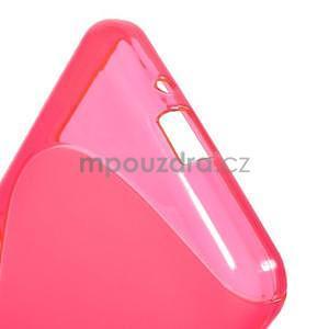 S-line gélový obal na Samsung Galaxy Grand Prime - rose - 5