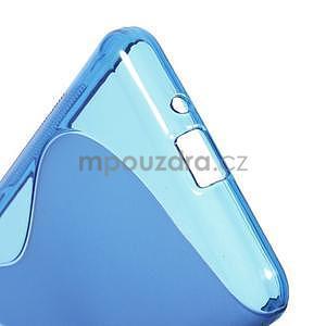 S-line gélový obal na Samsung Galaxy Grand Prime - modrý - 5