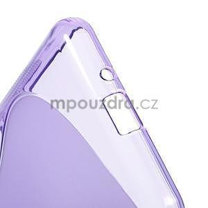 S-line gélový obal pre Samsung Galaxy Grand Prime - fialový - 5