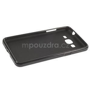 Čierny matný gélový obal pre Samsung Galaxy Grand Prime - 5