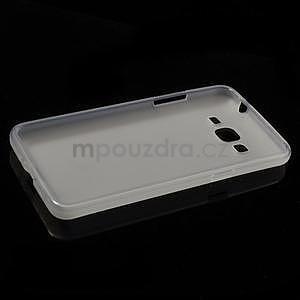 Transparentný matný gélový obal pre Samsung Galaxy Grand Prime - 5