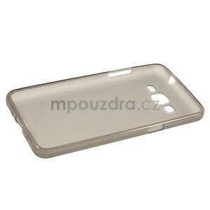 Šedý matný gélový obal pre Samsung Galaxy Grand Prime - 5