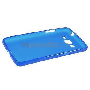 Modrý matný gélový obal pre Samsung Galaxy Grand Prime - 5