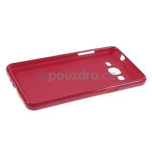 Gélový kryt na Samsung Galaxy Grand Prime - červený - 5