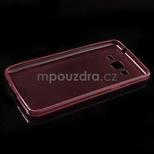 Ultra tenký obal pre Samsung Galaxy Grand Prime G530H - červený - 5