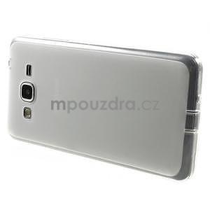 Oboustranně matný kryt na Samsung Galaxy Grand Prime - biely - 5