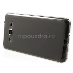 Oboustranně matný kryt na Samsung Galaxy Grand Prime - šedý - 5