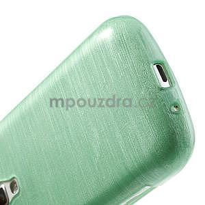 Brúsený gélový kryt pre Samsung Galaxy S Duos - zelený - 5