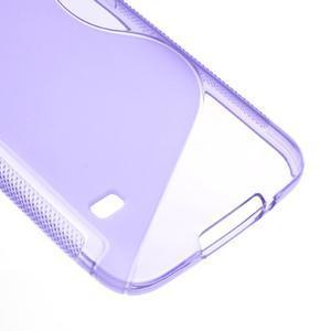 S-line gelový obal na mobil Samsung Galaxy S5 - fialový - 5