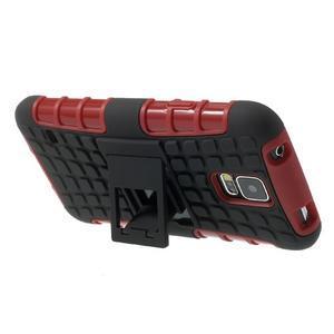 Outdoor odolný kryt na mobil Samsung Galaxy S5 - červený - 5