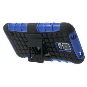 Outdoor odolný kryt pre mobil Samsung Galaxy S5 - modrý - 5